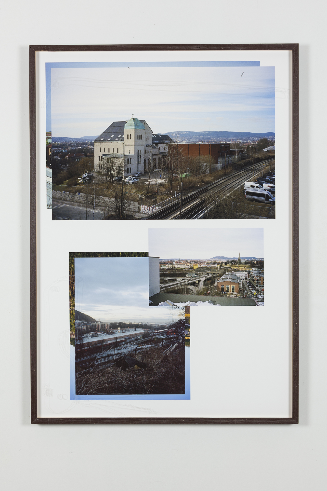 Jon Benjamin Tallerås, Untitled (Lock Picking is Key) V, 2019, inkjet print, scratched ar-glass, artist made frame, 63 x 90 cm, unique