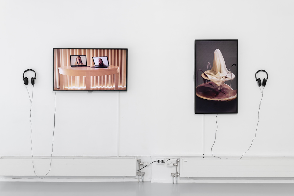 Pointed consciousness, Installation view 2