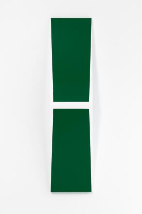 Untitled (H) white / green